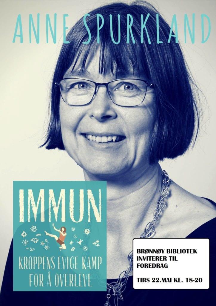 Foredrag med Anne Spurkland om immunforsvaret