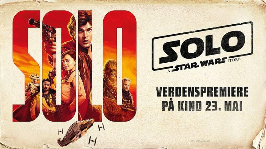 Verdenspremiere: Solo: A Star Wars Story
