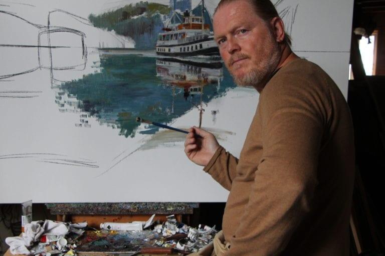 Landskapsmaleren til Mosjøen kunstforening