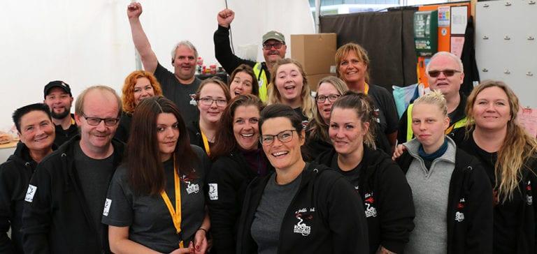 Rootsfestivalens grunnfjell: De frivillige