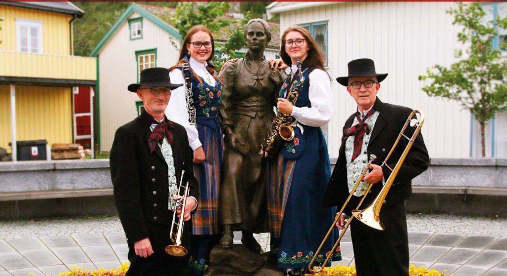 Funky folkemusikk Mosjøen Hornmusikk med venner