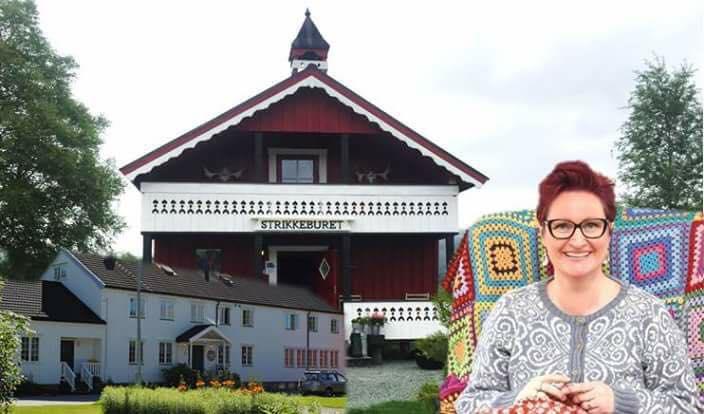 Strikkehelg 19.-21. Oktober med Vanja Blix på Grong gård Strikkeburet