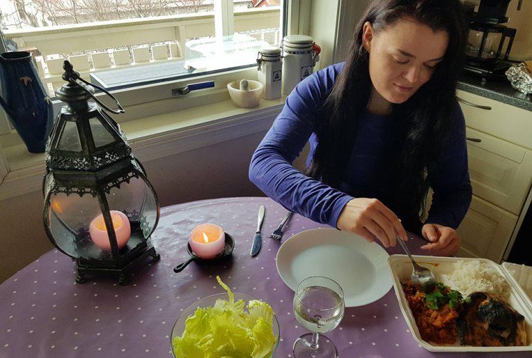 Vegetarmattest hjemme