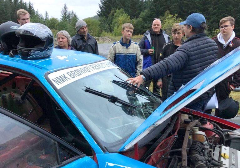 Rekordmange juniorer i bilcrossklubben