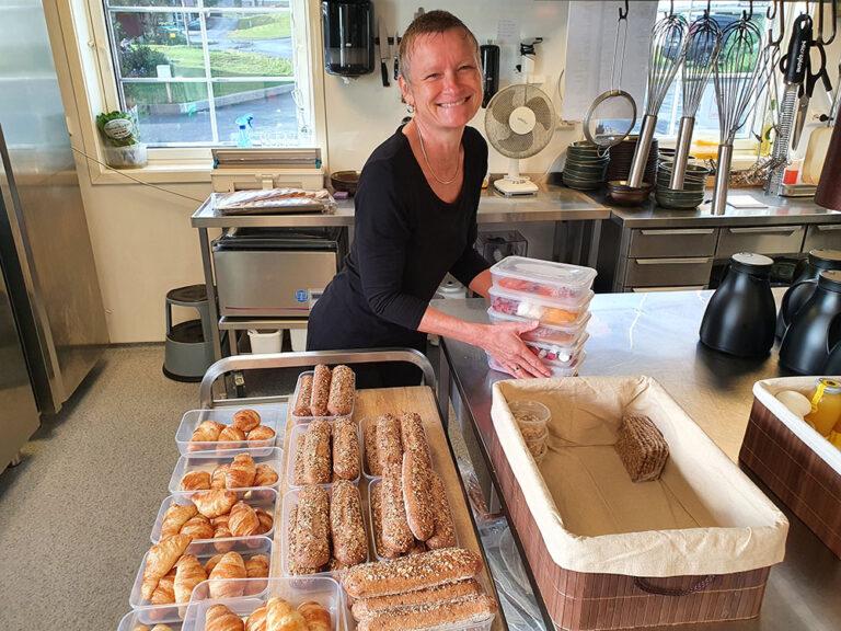 Frokostkurven gleder – og var helt nødvendig