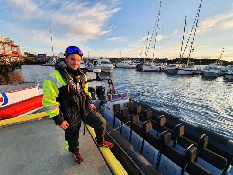 Fartsfylt binæring til havs