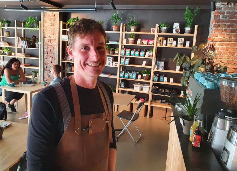Ekte kaffekjærlighet – og smarte koronaløsninger